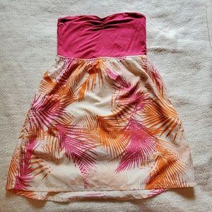 Strapless Roxy Sundress